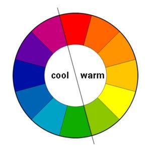 رنگ های سرد و رنگ های گرم
