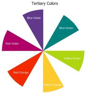 رنگ های ترکیبی